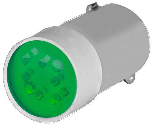 Groen Led Licht : New elfin lamp groene multichip led ba s v ac dc vast licht