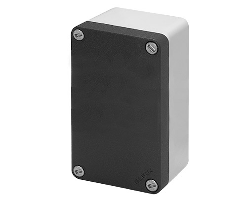 Aluminium push-button enclosures M10 85x140 mm