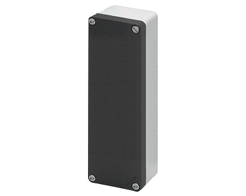 Aluminium push-button enclosures M10 85x260 mm