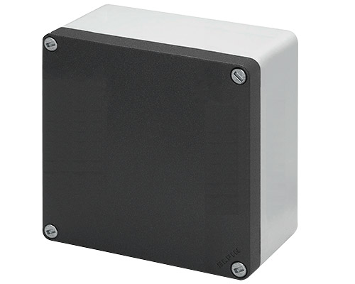 Aluminium push-button enclosures M10 140x140 mm