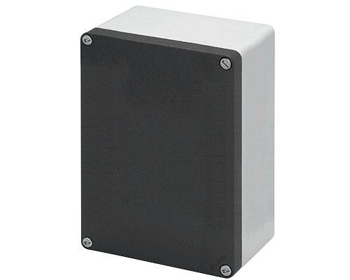 Aluminium push-button enclosures M10 140x200 mm