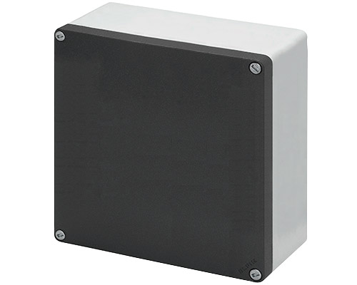 Aluminium push-button enclosures M10 200x200 mm