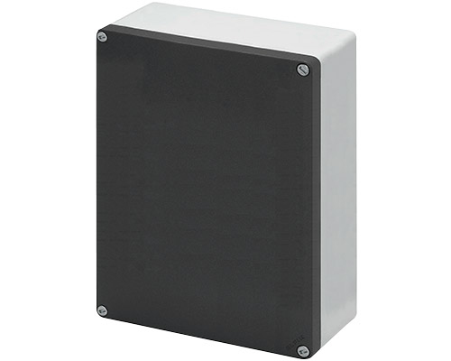 Aluminium push-button enclosures M10 200x260 mm