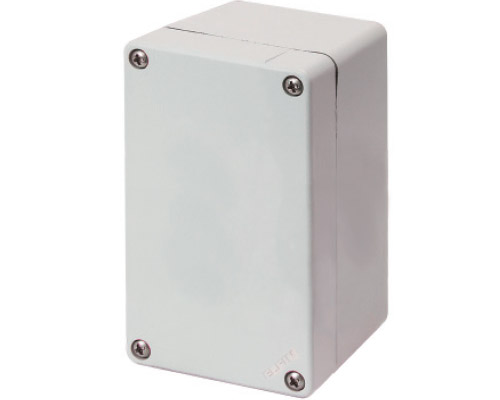Aluminium push-button enclosures M4 70x118 mm