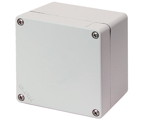 Aluminium push-button enclosures M4 92x92 mm