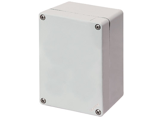 Aluminium push-button enclosures M4 92x118 mm