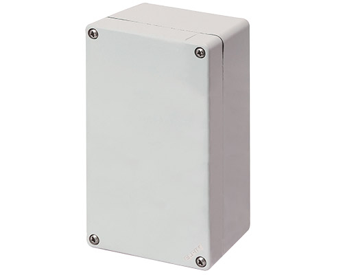 Aluminium push-button enclosures M4 92x152 mm