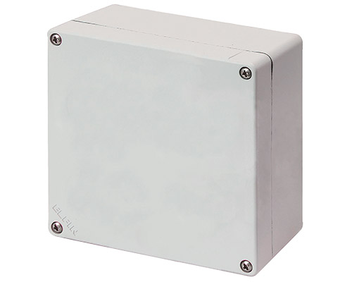 Aluminium push-button enclosures M4 152x152 mm
