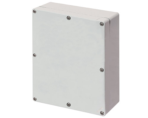 Aluminium push-button enclosures M4 170x205 mm