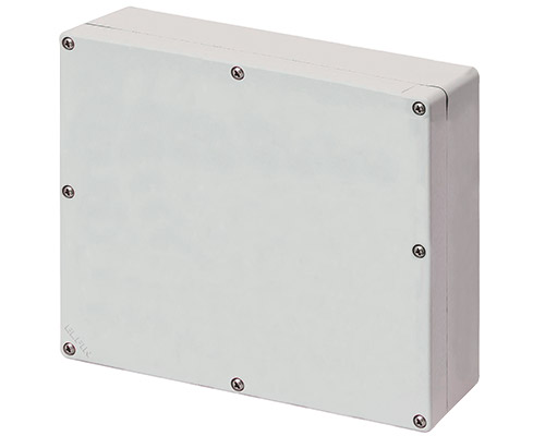 Aluminium push-button enclosures M4 230x205 mm