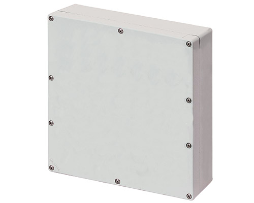 Aluminium push-button enclosures M4 230x257 mm