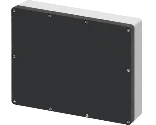 Aluminium push-button enclosures M5 400x320 mm