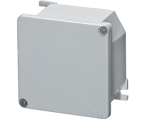 Aluminium junction boxes 100x100 mm