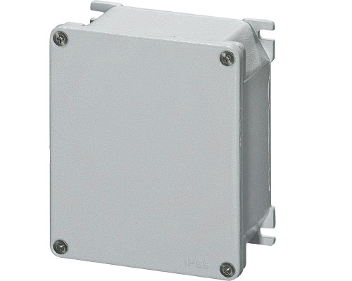 Aluminium junction boxes 115x140 mm