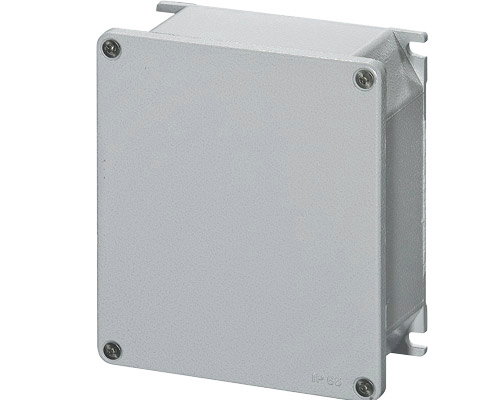 Aluminium junction boxes 142x166 mm