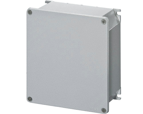 Aluminium junction boxes 168x192 mm
