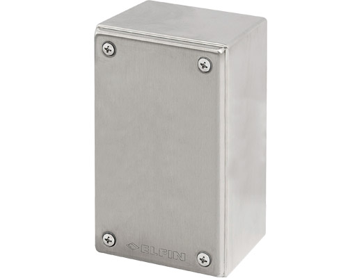 Stainless steel push-button enclosures 82x142 mm