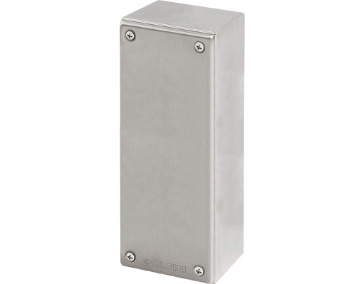 Stainless steel push-button enclosures 82x202 mm