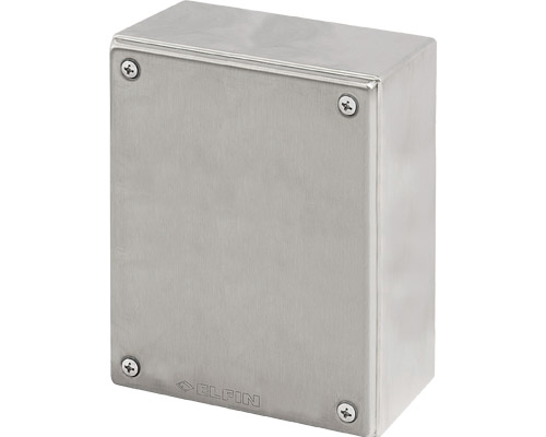 Stainless steel push-button enclosures 140x180 mm