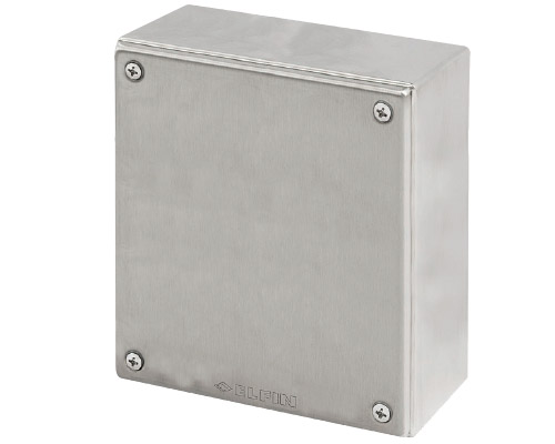 Stainless steel push-button enclosures 180x200 mm