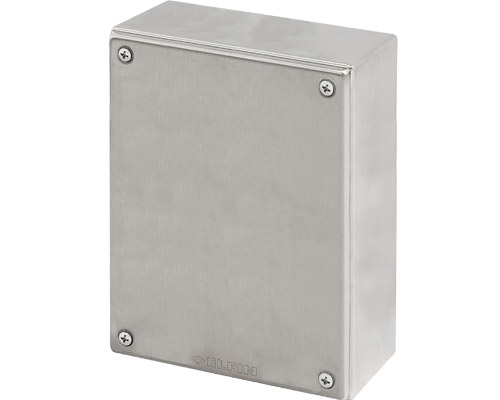 Stainless steel push-button enclosures 180x260 mm